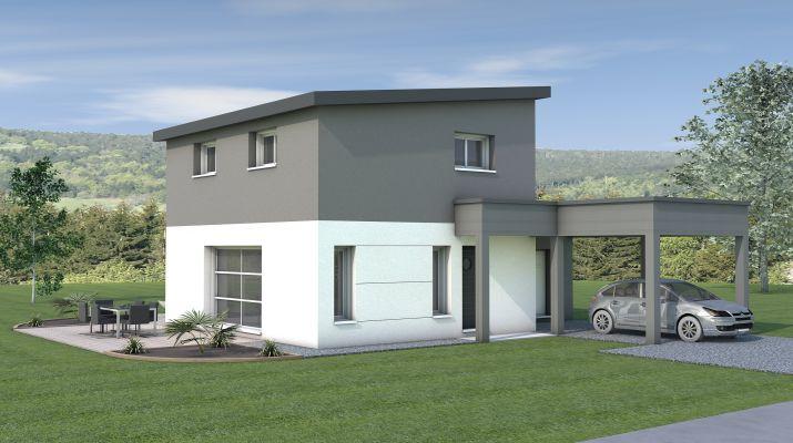 Maison à étage 86m²