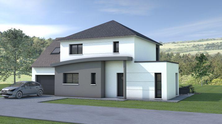 Maison à étage 113m²