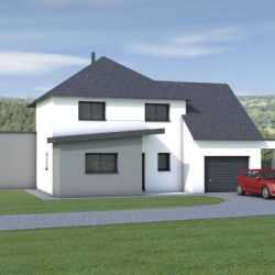Maison à étage 112m²