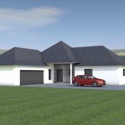 Maison de plain-pied 142m²